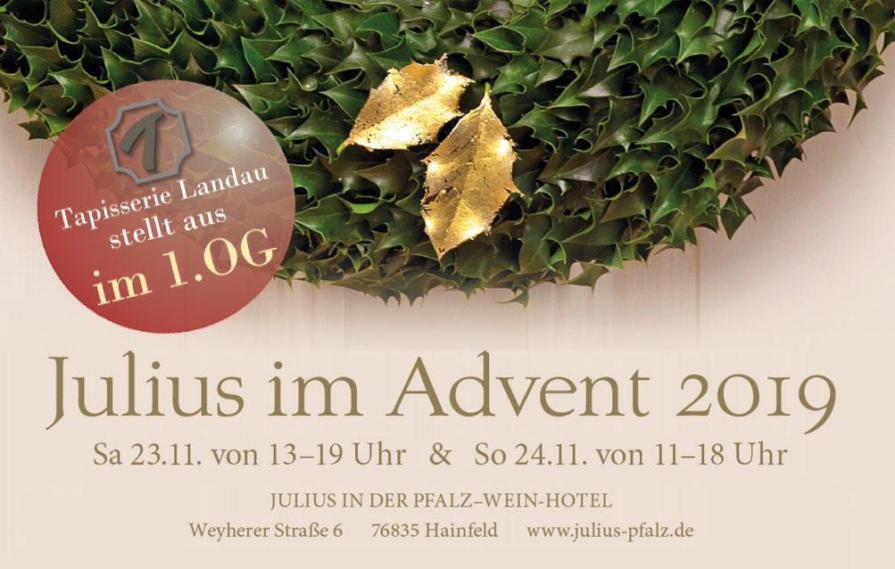 Julius im Advent / Julius in der Pfalz